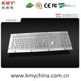 IP65 Kiosk Metal Keyboard with Trackball (KMY299I-1)