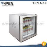 American Style Glass Front Mini Fridge Upright Mini Bar Refrigerator