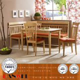 Oak Wooden Table and Chair Dining Room Table Set