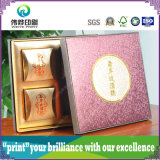 Elegant Moon Cake Packaging Promotional Paper Printing Gift Box