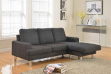 Modern Home Furniture Living Room Fabric Sofa with Corner (HC628)