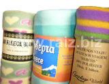 100% Polyester Printed Fleece Blanket