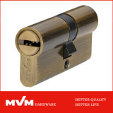 High Quality Hardware Mortise Lock Ab Brass Cylinders (P6P3530)