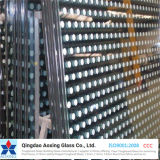 New Toughened/Tempered Silk-Printed Glass with Edge Grinding/Pattern