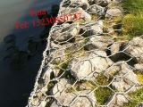 PVC Coated/Galvanized Gabion Basket /Gabions (XM-45)