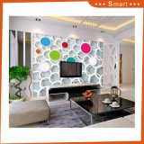 Colorful Circle Decorative Oil Painting Home Wall