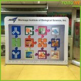 Shanghai Tongjie Supply Fabric Advertising Display Rack Pop Banner