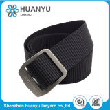 New Fashion Unisex Alloy Smooth Fabric Woven Nylon Belt