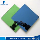 Tinted Reflective Aluminum Mirror for Bathroom Mirror/Decorated Wall Mirror