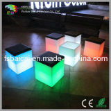 Color Changing LED Cube Chair / Nightclub Furniture / Bar Chair