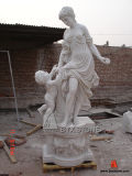 Natural Stone Modern Statue /Sculpture for Garden Decoration