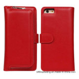 Detachable 2in1 Leather Wallet Mobile Cell Phone Case for iPhone