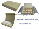 Chocolate Box/Chocolate Paper Box/Chocolate Packaging Box with Insert