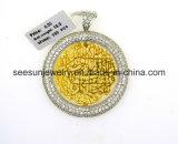 925 Sterling Silver Arabic Symbol Pendant