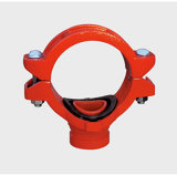 FM/UL/Ce Approval Fire Pipe Fitting Grooved Mechanical Tee