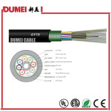 Factory 24 Cores (Multi-Mode Fiber) GYTS Outdoor Stranded Optical Fiber Cable for Network