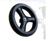 """11.5"""" Black Solid Foam Stroller Wheel"""
