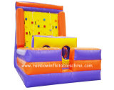 2016 Heat Inflatable Climbing Wall with Obstacle Course