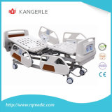 Manual Function ABS/Steel Five Function Medical Bed Hospital Bed