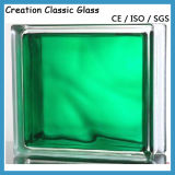 Green Color Glass Blcok for The Wall