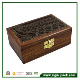 Retro Customized Laser Engraving Wooden Box for Gift