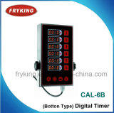 Commercial Use 6-Channel Digital Timer for Kitchen