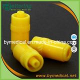 Medical Disposable Yellow Colour Plastic Heparin Stopper