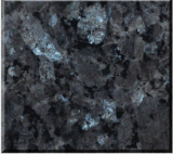 Popular Polished Blue Pearl Dark Grey Black Granite Tile