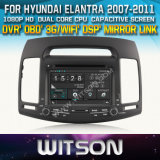 Witson Car DVD Player for Hyundai Elantra 2007-2011 with Chipset 1080P 8g ROM WiFi 3G Internet DVR Support