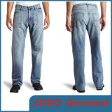 Fashion Light Blue Men Jean Trousers Denim Pants (JC3092)