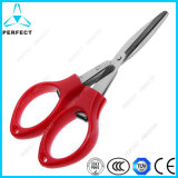 Portable Stainless Steel Folding Craft Scissor in Multi Color