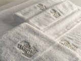 Hotel Logo Embroidery Cotton Terry Hand Towel