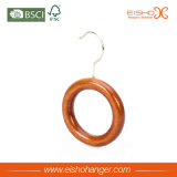 Beautiful Single Circle Wooden Ties Belts Ring Hanger