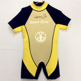 Short Sleeves and Pants Waterproof Surfing Wetsuit (HX15S36)