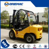 Yto 2.5ton Small Rough Terrain Forklift Cpcd25 2WD for Sale