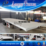 Low Price 2 Axles 40FT Container Chassis Trailer for Sale