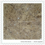 2016 New Style Golden Artificial Marble Slab for Tile