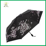 Lady Beautiful Fashion Foldable UV Umbrella with High Quality