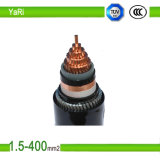 PVC Insulated Copper Cable with Rated Voltages 0.6/1 Kv