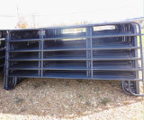American Black Coated 12foot Long Used Livestock Panels/Steel Corral Panels