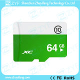 White and Green 64GB Class 10 Micro SD Memory Card (ZYF6029)