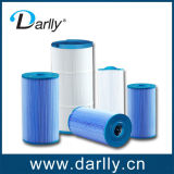 Folding Pleated Polyester Media Pool and SPA Filter Cartridge