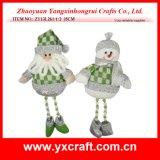 Christmas Decoration (ZY13L261-1-2 35CM) Christmas Bank Children Set
