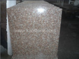 G687 Peach Red Polished Granite Tiles for Floor Paver