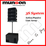 Active/Passive Line Array System 3S