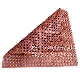 Rubber Anti-Slip and Anti-Fatigue Interlocking Porous Rubber Floor Mat