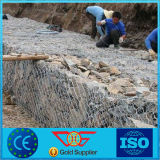 Environment Protection Used Galvanized Gabion Basket