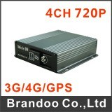 4CH SD Card Mobile DVR Further with GPS/3G/4G/WiFi Optional/ Mdvr