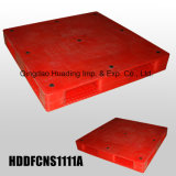 1100X1100X150 mm Heavy Duty Plastic Pallet with Double Faced Closed Decks