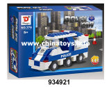 Police Series Building Bricks Car Block Set Toys (934912)